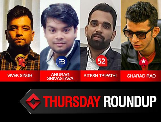 Thursday Roundup: Sharad Rao wins Highroller on PokerStars!