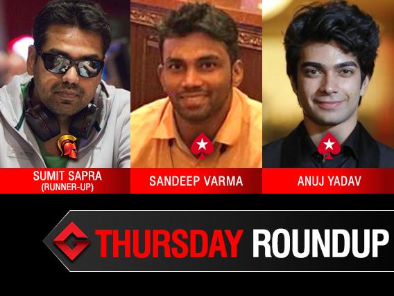 Thursday Roundup: Varma and Yadav triumph on PokerStars!