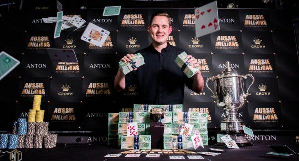 Toby Lewis Wins 2018 Aussie Millions