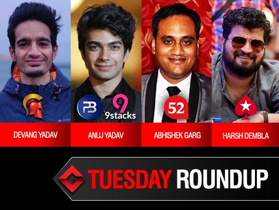Tuesday Roundup: Anuj Yadav wins back-to-back majors