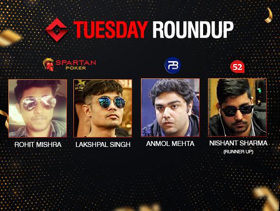 Tuesday Roundup: Mishra, Singh, Mehta seize titles!