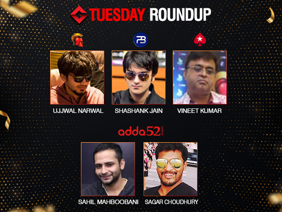 Tuesday Roundup: Narwal, Jain, Choudhury, Mahboobani, Kumar win big!