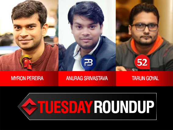 Tuesday Roundup: Pereira, Srivastava, Goyal among title winners