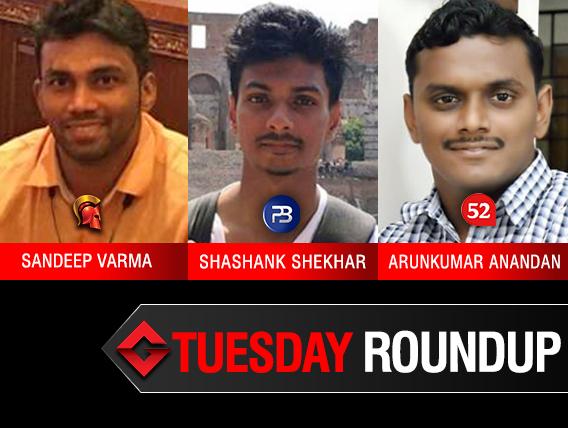 Tuesday Roundup: Varma, Shekhar, Anandan among title winners