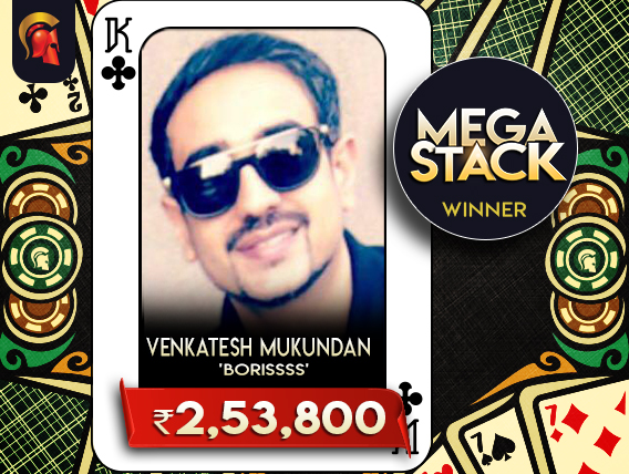 Venkatesh Mukundan Megastack Winner
