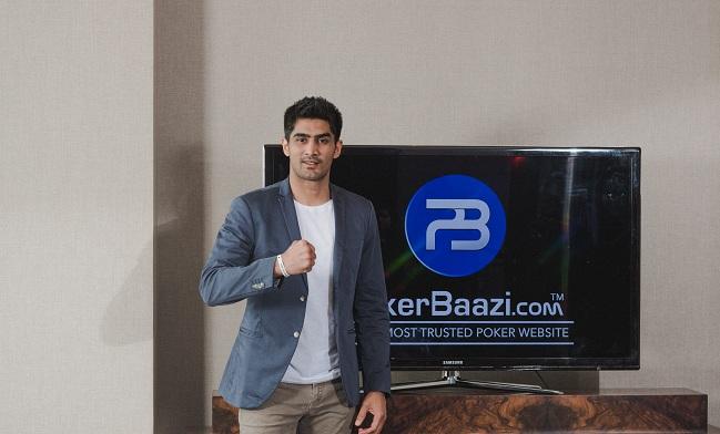 Vijender Singh- Brand Ambassador PokerBaazi