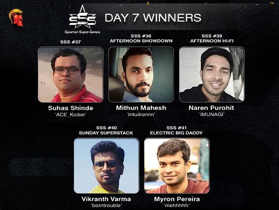Vikranth Varma wins Sunday SuperStack on Spartan