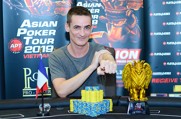 Vincent Chauve wins the APT Championships Event and POS