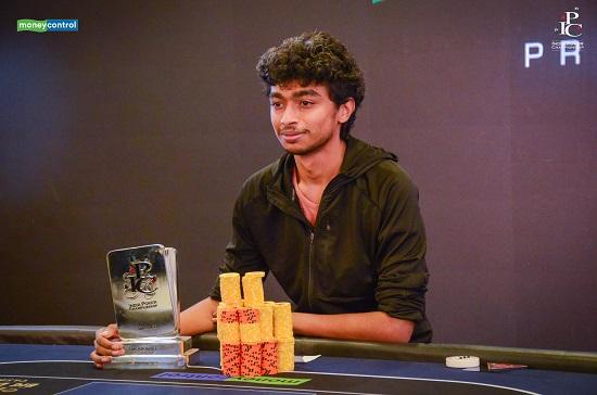 Vinod Megalmani on winning his first Indian title at IPC