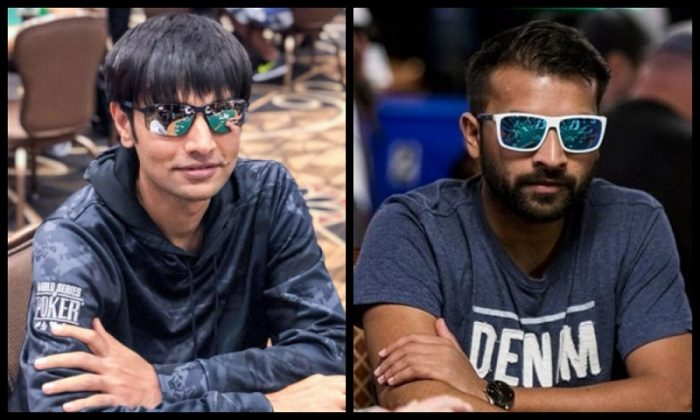 Vivek Rughani and Paawan WSOP 2019