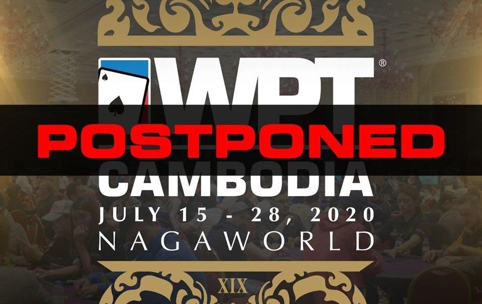 World Poker Tour postpones Cambodia Main Tour 2020