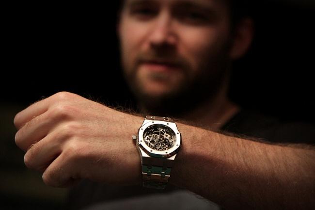 Watch- Audemars Piguet Prestige Sports Collection Royal Oak Openworked