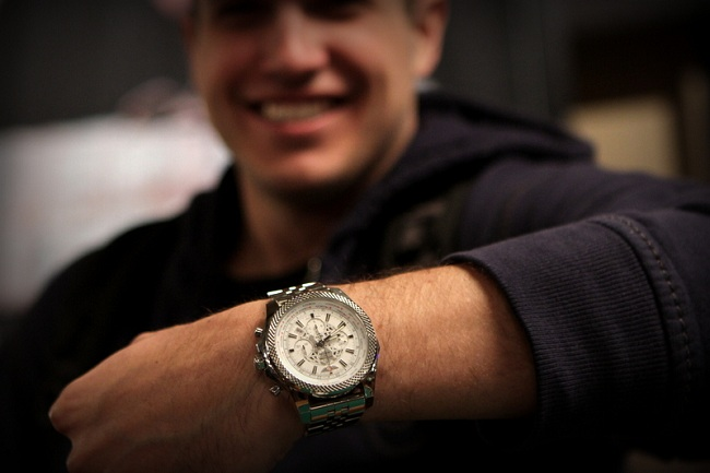 Watch- Breitling B05 Unitime White Dial