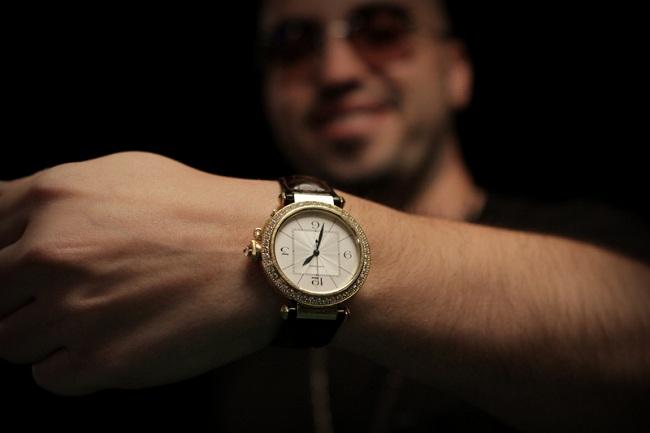 Watch- Cartier Pasha de Cartier Diamond Bezel