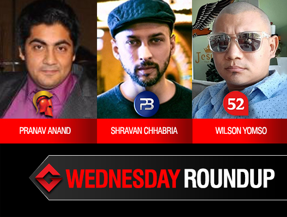 Wednesday Roundup Anand Chhabria Yomso among title winners