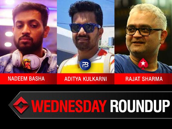 Wednesday Roundup: Basha, Kulkarni, Sharma win titles