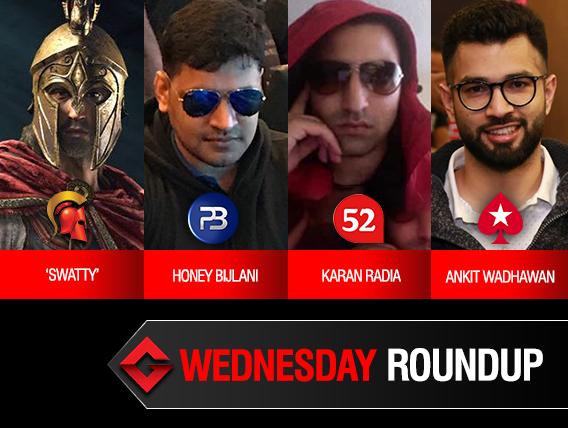Wednesday Roundup: Bijlani, Radia, Wadhawan win titles!