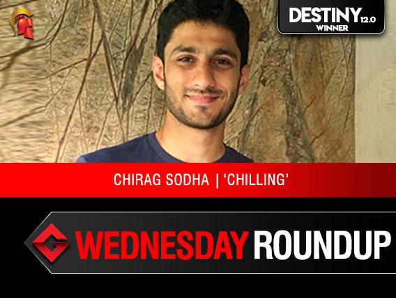 Wednesday Roundup Chirag Sodha takes down Destiny 12.0 on Spartan