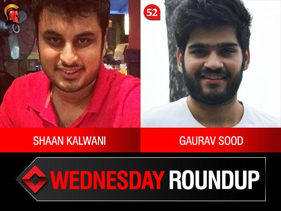 Wednesday Roundup: Kalwani, Sood among title winners