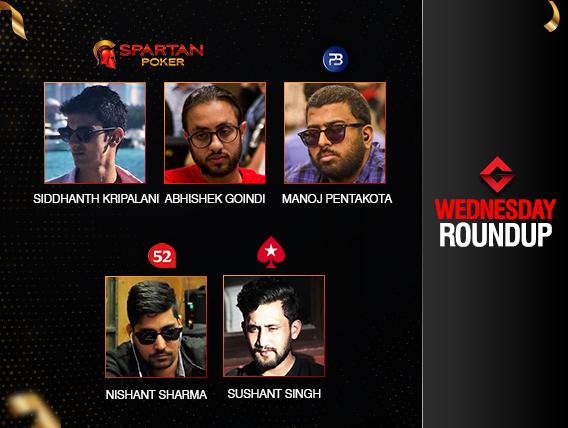 Wednesday Roundup: Nishant Sharma triumphs again!