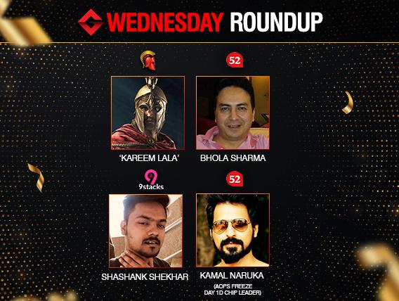 Wednesday Roundup: Sharma and Shekhar among title winners