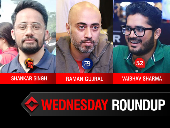 Wednesday Roundup: Singh, Gujral, Sharma win big!