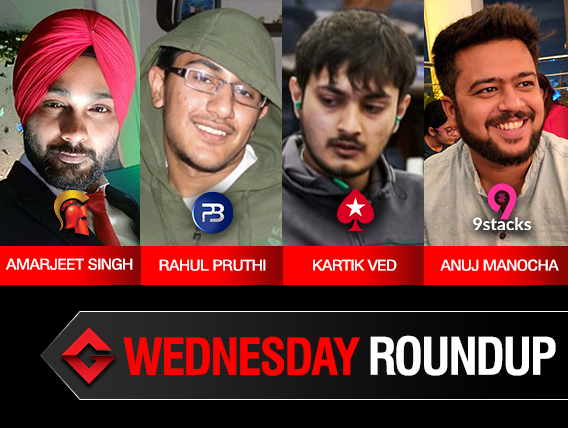 Wednesday Roundup: Singh, Pruthi, Ved, Manocha win titles