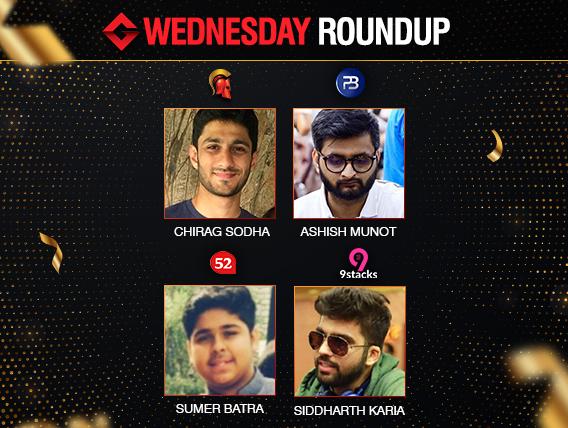 Wednesday Roundup: Sodha, Munot, Batra, Karia win big!