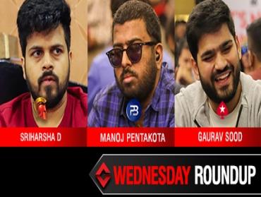 Wednesday Roundup: Sriharsha, Pentakota, Sood win big!