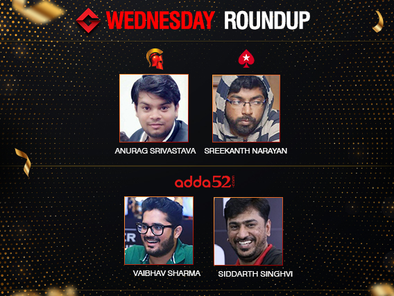 Wednesday Roundup: Srivastava bags second consecutive title!