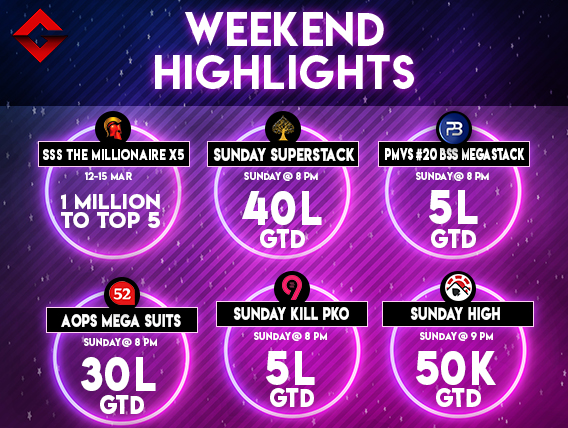 Weekend Highlights: Do not miss these massive monthly series!