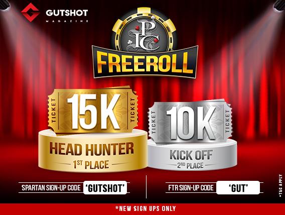 Win a seat to Goa in Gutshot's IPC Freeroll