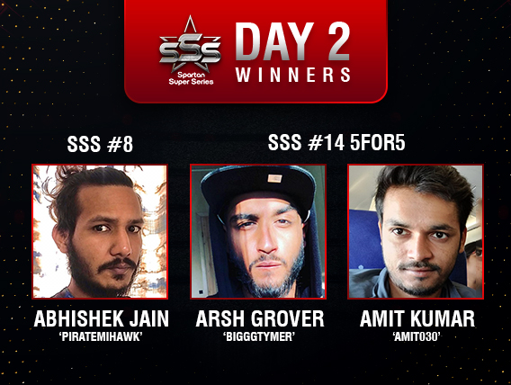 Arsh Grover among title winners on SSS Day 2!