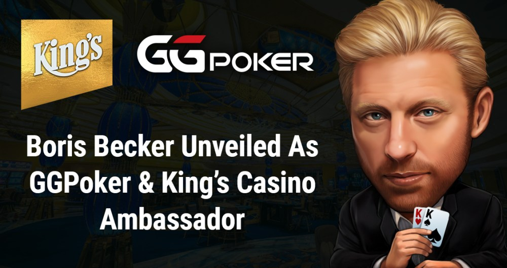 GGPoker and King's announce Boris Becker as brand ambassador