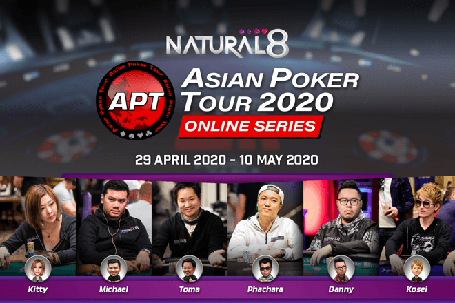 Asian Poker Tour teams up with Natural8 for first-ever online series