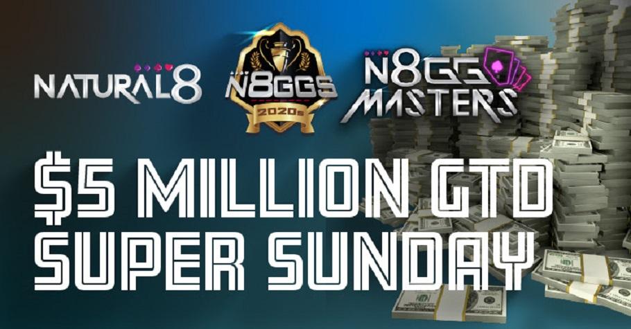 Biggest ever Super Sunday on Natural8