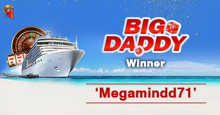 'Megamindd71' wins Big Daddy tournament at Spartan