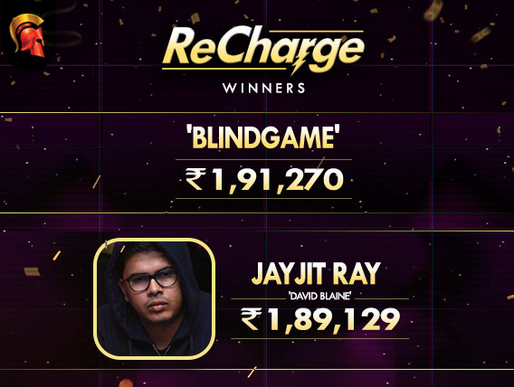 'blindgame' and Jayjit Ray chop last night's ReCharge