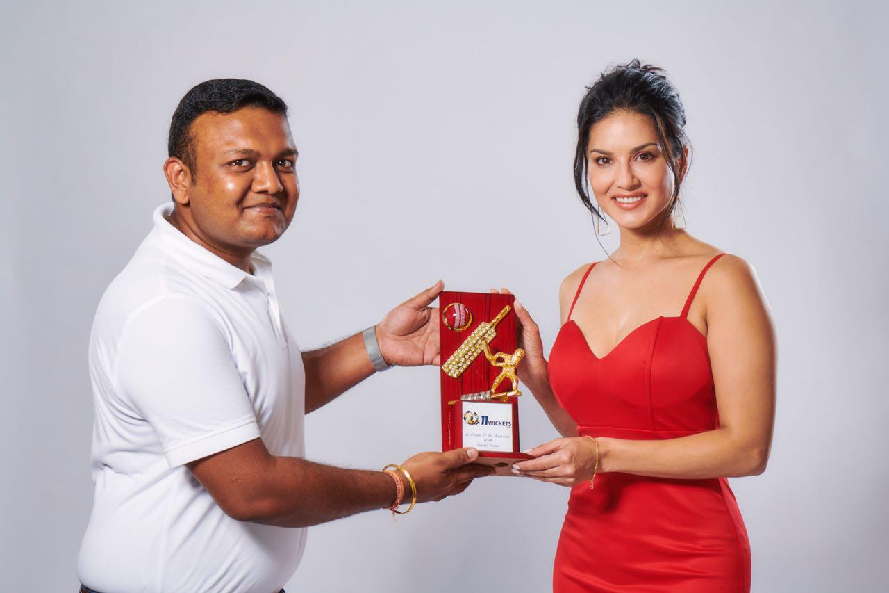 11Wickets signs Sunny Leone as brand ambassador.jpeg