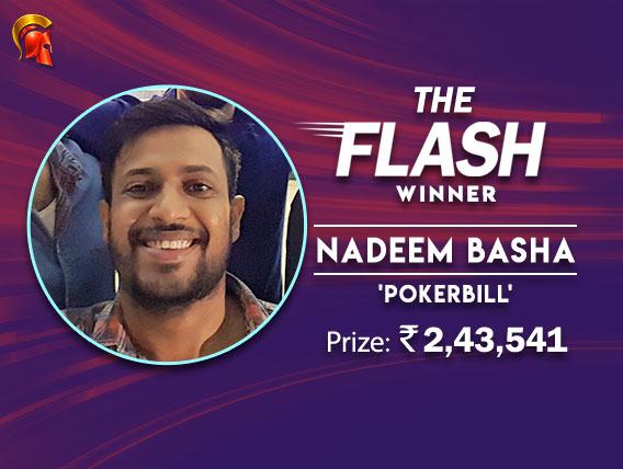 2-way chop gives Nadeem Basha the Flash title