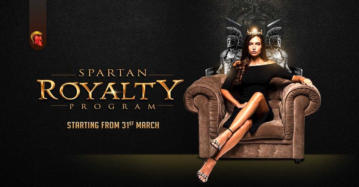 A regal offering in Spartan's 'Royalty' program this April