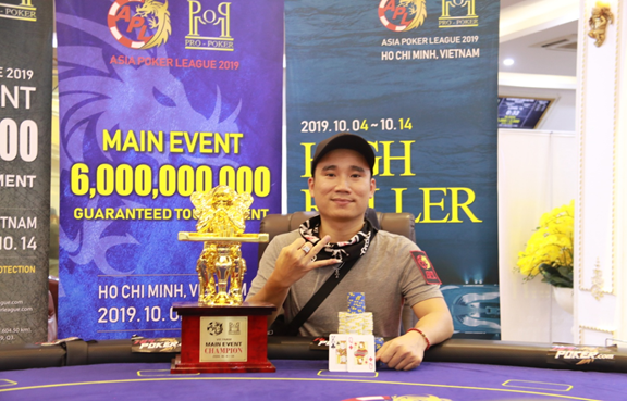 APL Vietnam: Terry Nyugen wins the Main Event