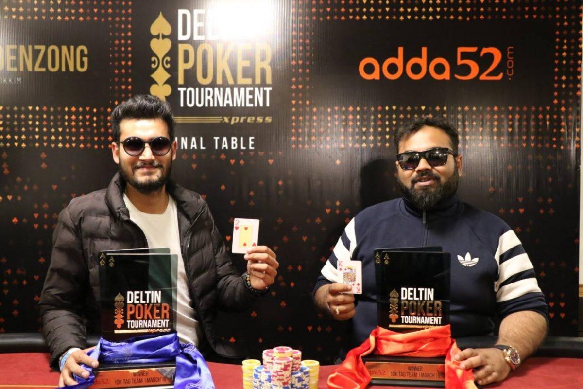 Aayush Aggarwal and Rishab Dalmia win DPTX Tag Team Event
