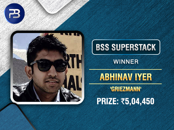 Abhinav Iyer beats Labroo in HU to win BSS SuperStack