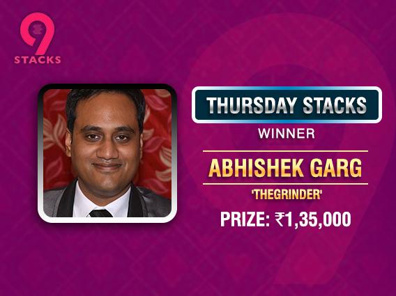 Abhishek Garg goes back-to-back; ships Thursday Stacks