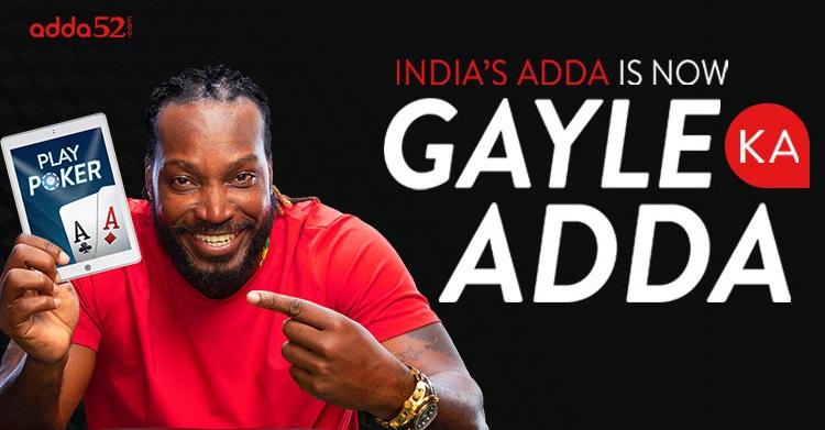 Adda52 launches new 'Gayle Ka Adda' ad campaign