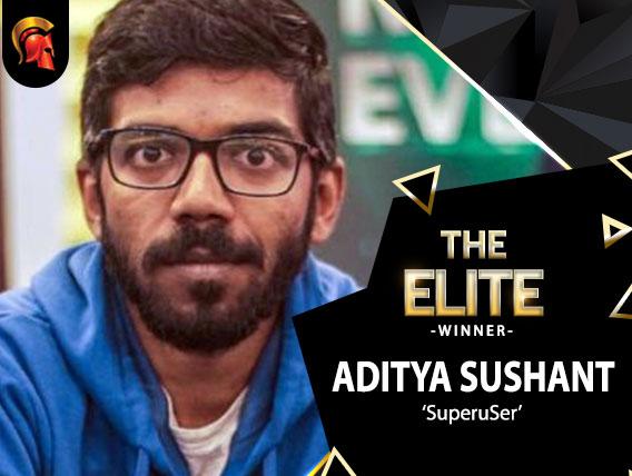 Aditya Sushant wins last night's Spartan Elite