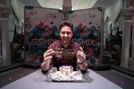 Adrian Mateos wins Winamax SISMIX Main Event