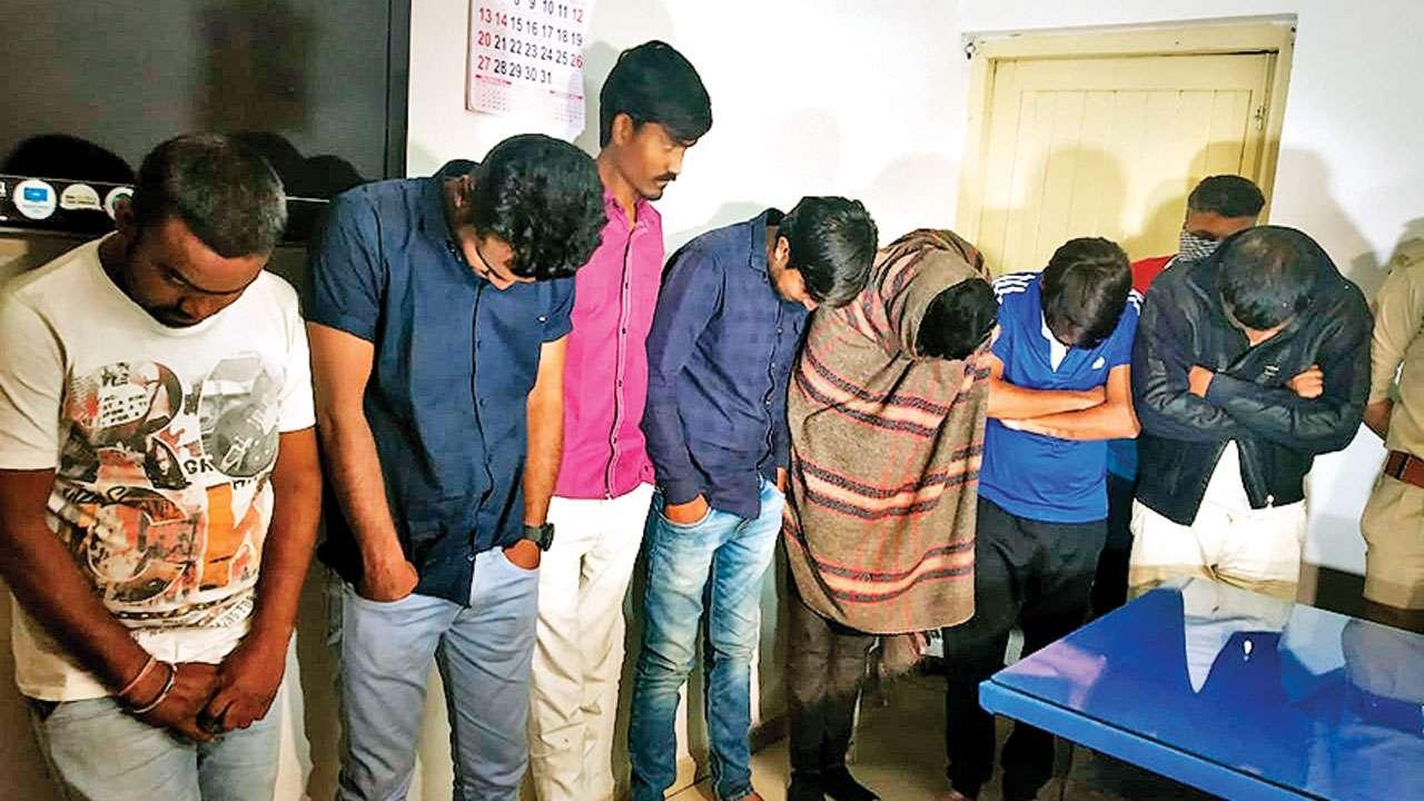 Ahmedabad police busts gambling den near HQ