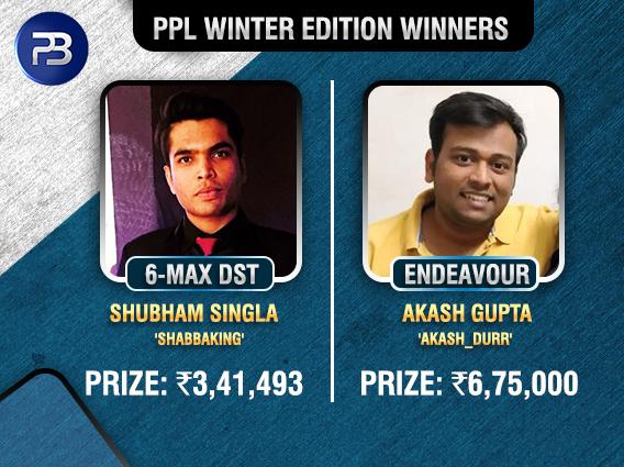 Akash Gupta, Shubham Singla among title winners on PPL Day 2